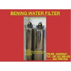 """Tabung Filter Air Stainless 8"""""""