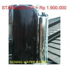 """Tabung Filter Air Stainless 10"""""""